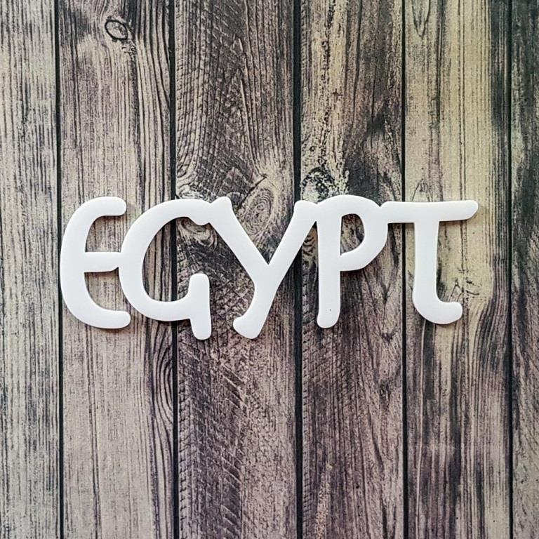 Egypt - akril chipboard